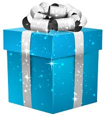 Gift box - blue